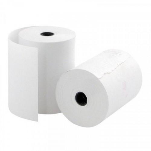 Чековая лента из офсетной бумаги 76 мм ProMega (диаметр 50 мм, намотка 20-21 м, втулка 12 мм, 12 ш. в упаковке)