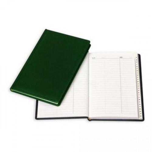 Алфавитная книжка зеленый,А5,133х202мм,96л,АТТАСНЕ ВИВА