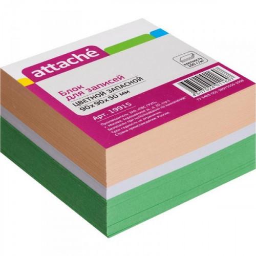Блок-кубик запасной 9х9х5 см  цветной