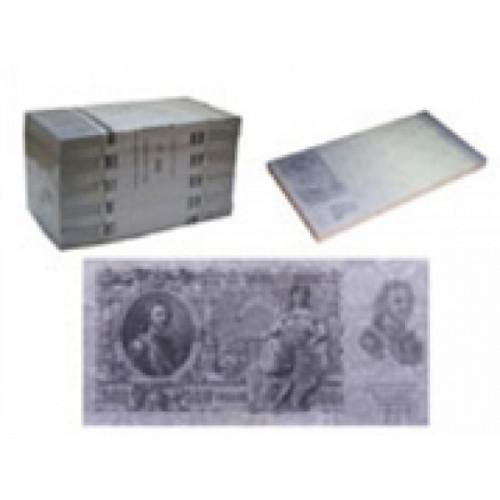 """Бумага для заметок """"Александр III"""" и """"Петр I"""" в виде денег"""