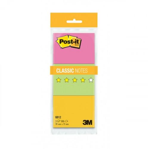 Блок-кубик 3М 38х51 3 блока (цветные) Post-it