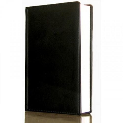 Ежедневник недатированный черный А5 148х218 мм 176 листов ATTACHE ВИВА