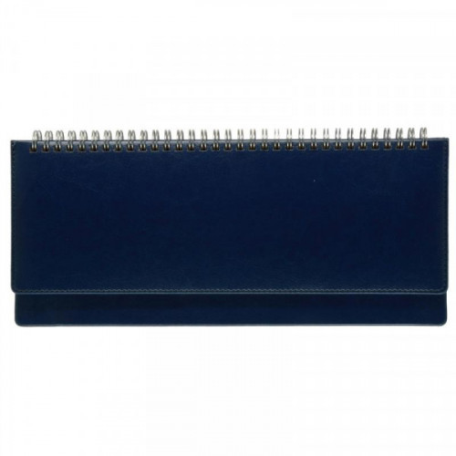 Планинг недатированный Attache Sidney Nebraska искусственная кожа 64 листа синий (305х130 мм)