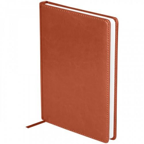 """Ежедневник недатированный, A5, 136л., кожзам, OfficeSpace """"Nebraska"""", коричневый"""