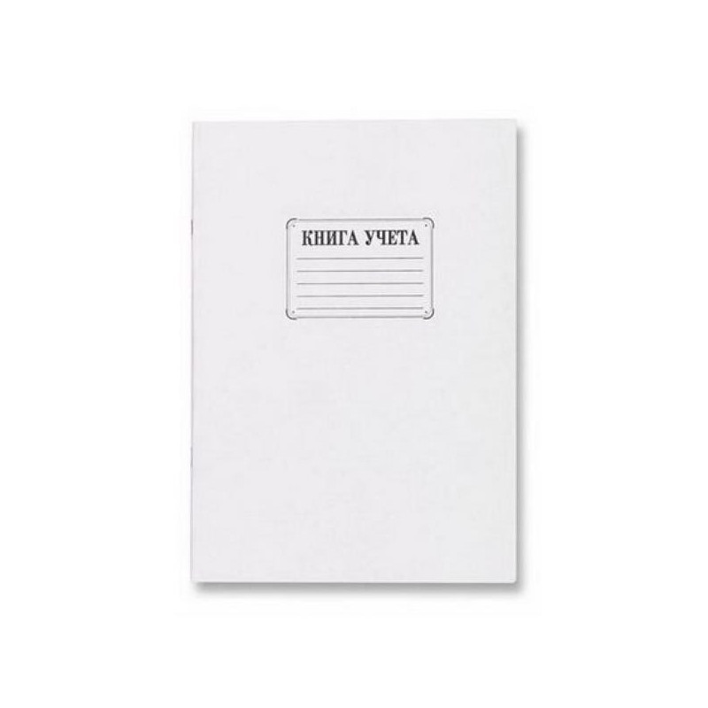 Книга учета бухгалтерская офсет А4 48 листов в клетку на скрепке
