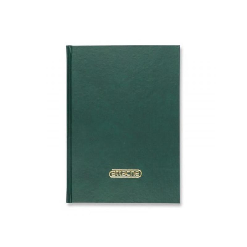 Книга учета 144 листов в клетку офсет обложка бумвинил ATTACHE