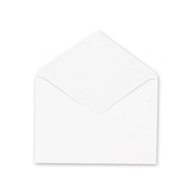 Конверт белый С6 декстрин 114х162 мм 80 г 1000 штук в упаковке