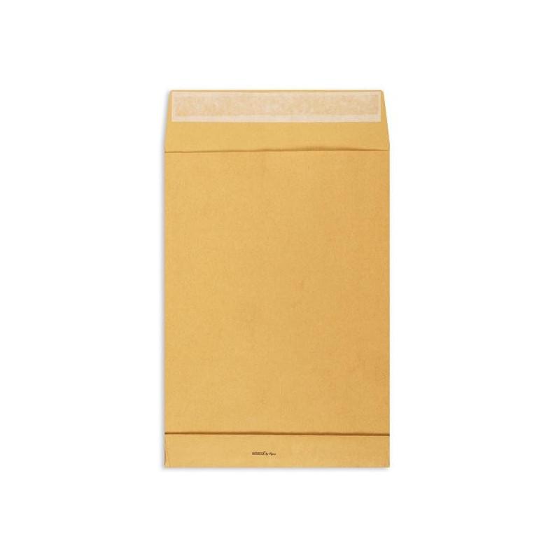 Пакет крафт B4 стрип Extrapack 250х353х40 мм 120 г 250 штук в упаковке
