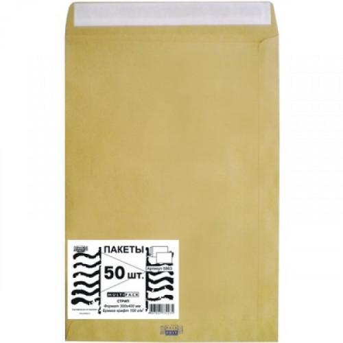 Пакет крафт E4 стрип Multipack 300х400 мм 100 г 50 штук в упаковке