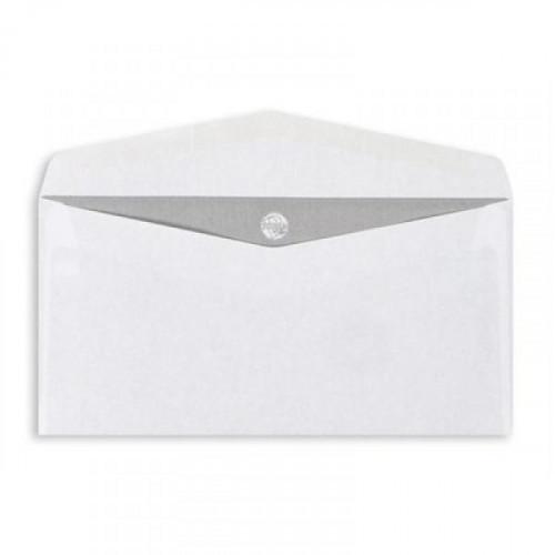Конверт белый E65 декстрин OfficePost 110х220 мм 1000 штук в упаковке