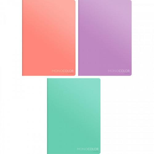 Тетрадь А4 80 листов в клетку обложка мелованный картон