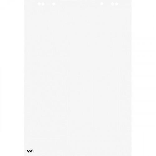 Блокнот для флипчарта, 65х98 см, 20 листов, перфорация, микроперформация, белый