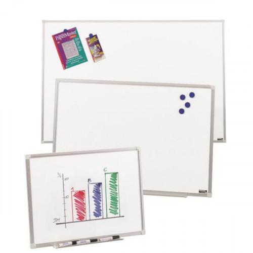 Доска белая магнитно-маркерная 45х50 см алюминиевая рамка