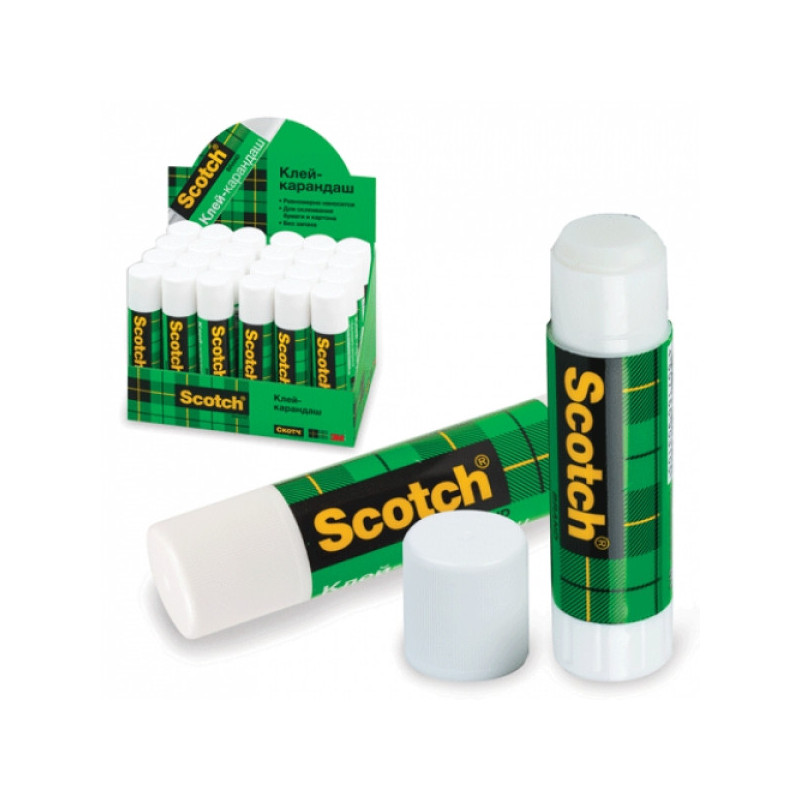Клей-карандаш Scotch 8 грамм
