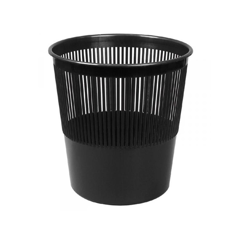 Корзина для мусора Attache 10 литров пластиковая черная