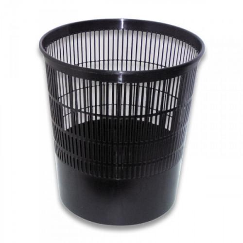 Корзина для мусора СТАММ 18 литров пластиковая черная
