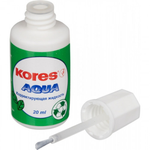 Корректирующая жидкость Kores Aqua на водной основе 20 мл