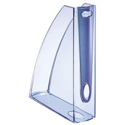 Вертикальный накопитель LEITZ Allura 75 мм светло-голубой полупрозрачный