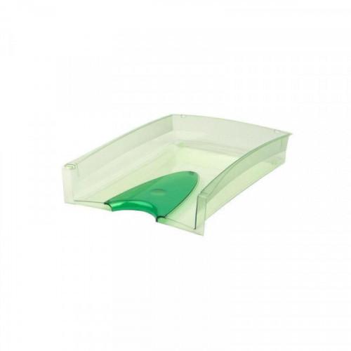 Лоток для бумаг ATTACHE тонированный зеленый 2 штуки