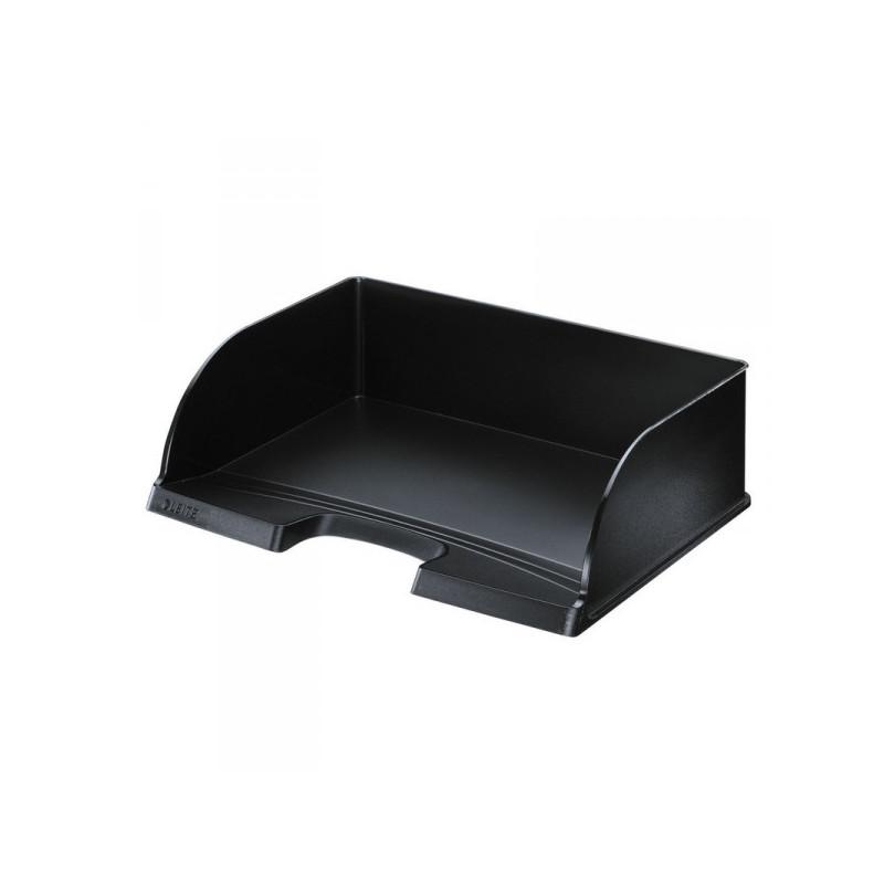 Лоток для бумаг Leitz Plus Jumbo поперечный черный