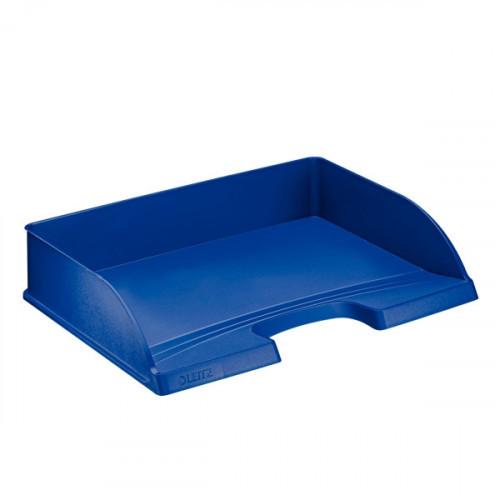 Лоток для бумаг поперечный Leitz Plus синий А4