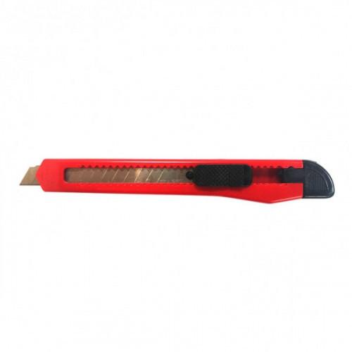 Нож 9 мм DOLCE COSTO красно-черный