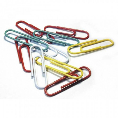 Скрепки цветные DOLCE COSTO 25 мм, 100 шт