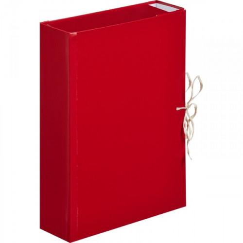 Папка архивная на 4 завязки A4 Attache 8 см бумвинил