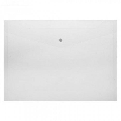 Папка-конверт на кнопке А4, 0,18 мм, прозрачная DOLCE COSTO