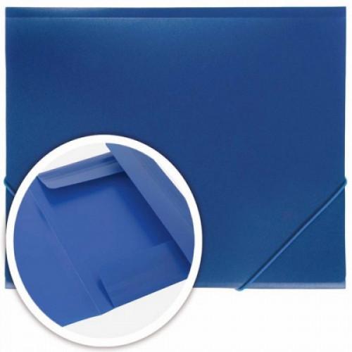 Папка на резинках DOLCE COSTO Эконом, A4, синяя