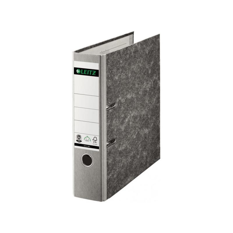 Папка с арочным механизмом LEITZ L-10800285 80 мм серый корешок