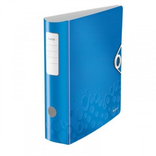 Папка с арочным механизмом Leitz 180° Active Wow 80 мм синяя