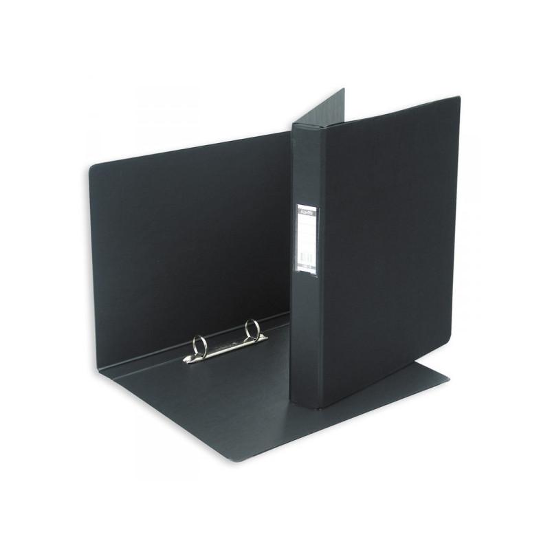Папка на 2 кольца Bantex картонная/пластиковая 35 мм черная