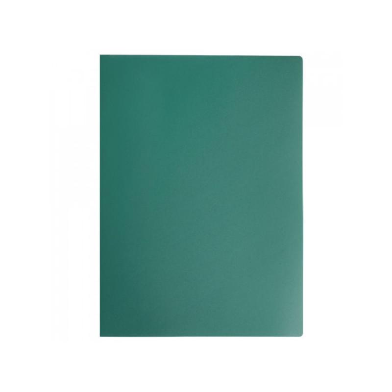 Папка на 2 кольцах STAFF, 21 мм, зеленая, до 120 листов, 0,5 мм, 225719