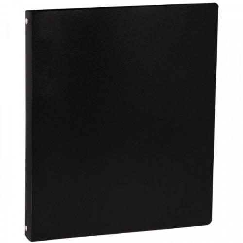 Папка на 4-х кольцах OfficeSpace, 35мм, 500мкм, черная