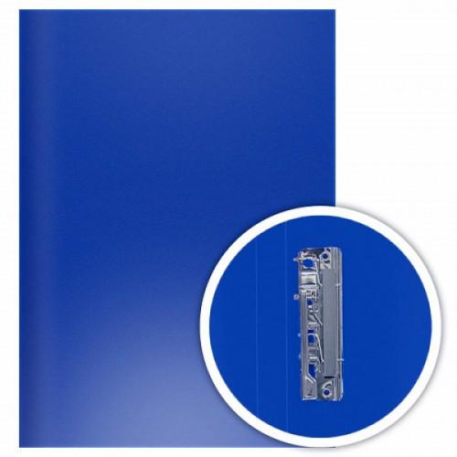 Папка с боковым прижимом DOLCE COSTO Эконом, А4, синяя