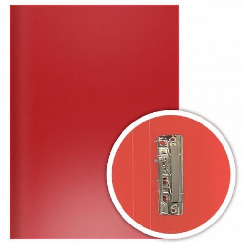 Папка с боковым прижимом DOLCE COSTO Эконом,А4, красная
