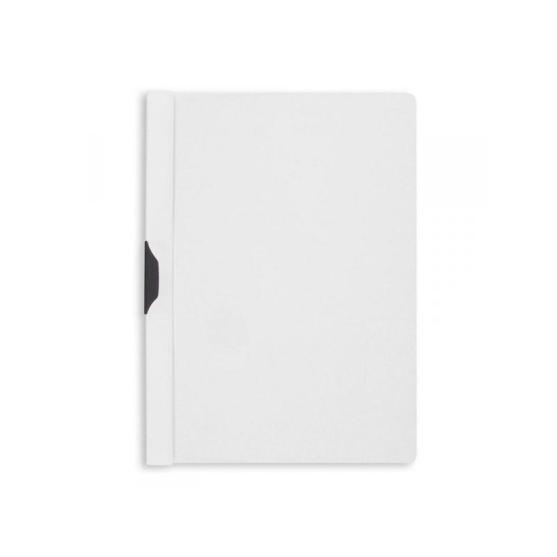 Папка для брошюровки Bantex с клипом А4 белая до 30 листов