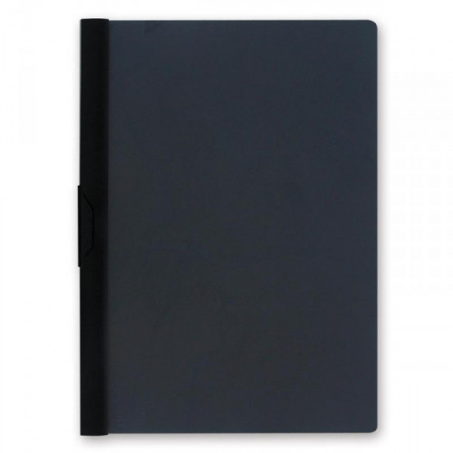 Папка для брошюровки Bantex с клипом А4 черная до 30 листов