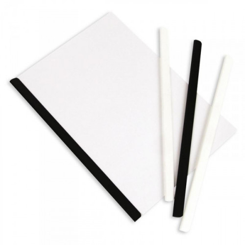 Скрепкошина для брошюровки Bantex А4 черная до 50 листов
