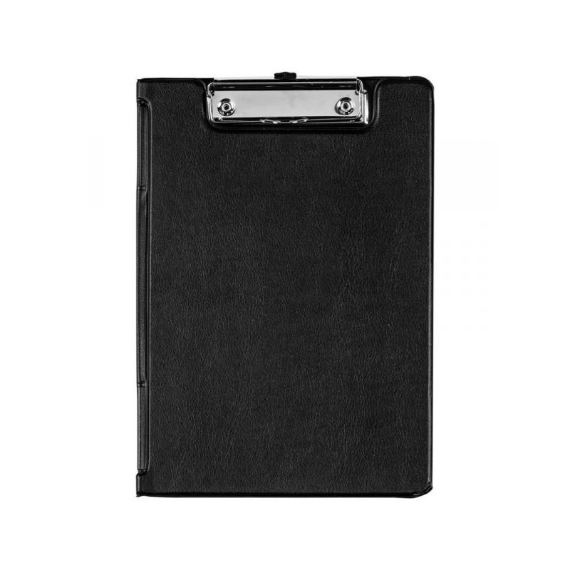 Папка-планшет с крышкой Bantex картонная черная 1.9 мм