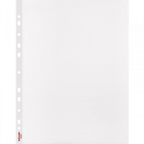 Файл-вкладыш Esselte Delux А4 105 мкм прозрачный гладкий 10 шт/уп