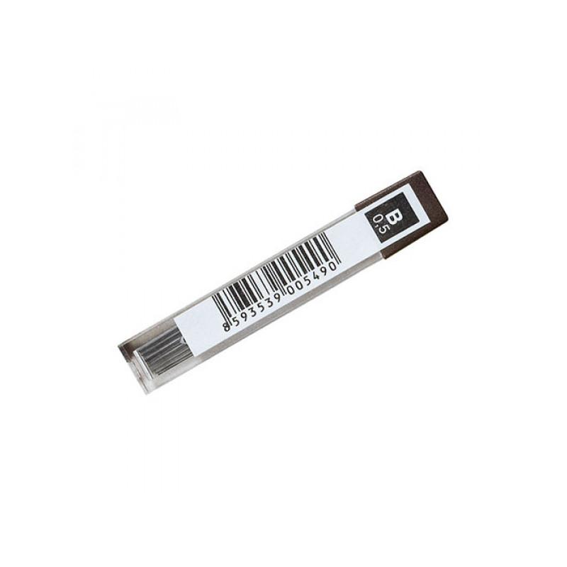 Стержень графитовый тонкий KOH-I-NOOR 12 штук в упаковке 0,5-60 4152 НВ