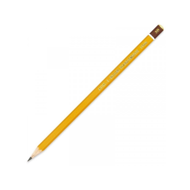 Карандаш Koh-I-Noor 1500 3B без ластика заточенный
