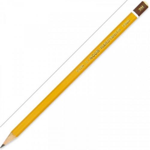 Карандаш Koh-I-Noor 1500 3H без ластика заточенный