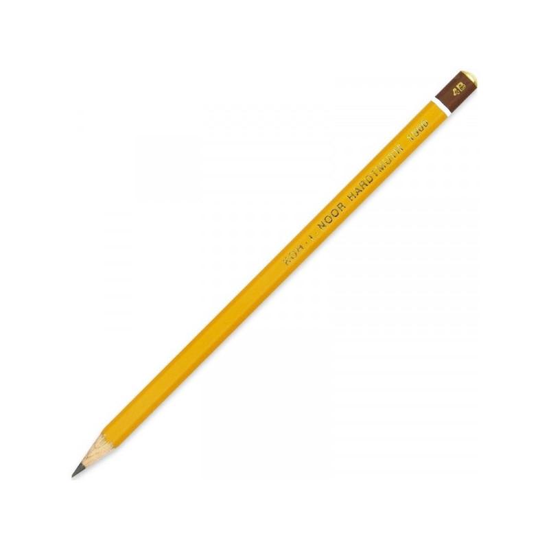 Карандаш Koh-I-Noor 1500 4B без ластика заточенный