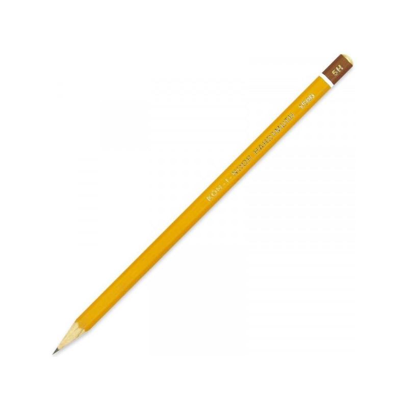 Карандаш Koh-I-Noor 1500 5H без ластика заточенный