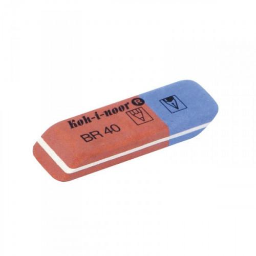 Ластик KOH-I-NOOR 6521/40 комбинированный каучуковый
