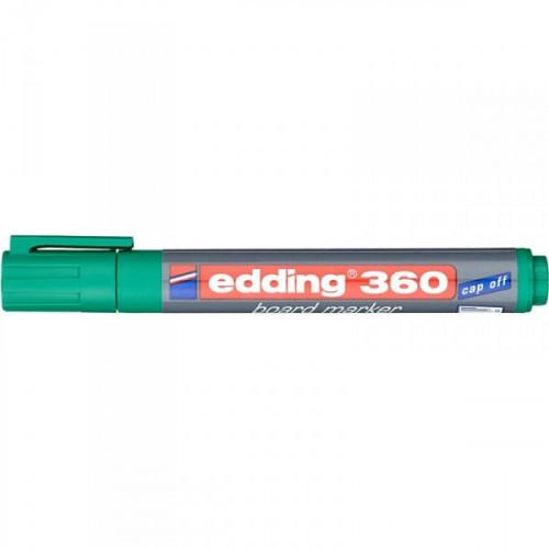 Маркер для досок Edding e-360/4 cap off зеленый 1,5-3 мм