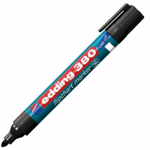 Маркер для флипчартов Edding E-380/3 cap off синий 2,2 мм